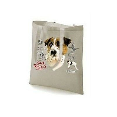 Wirehair Jack Russell Terrier History Design Tote Bag