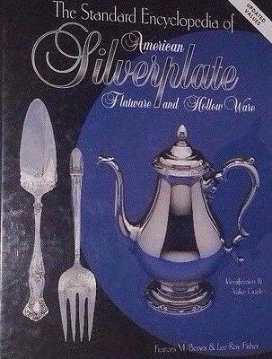 ENCYCLOPEDIA OF SILVERPLATE VALUE GUIDE COLLECTOR'S BOOK Spoon Fork Knife ++