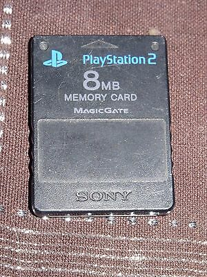 CARTE MEMOIRE OFFICIELLE 8 MB - 8 MO - 8MB - 8MO - ACCESSOIRE PLAYSTATION 2 Ps2