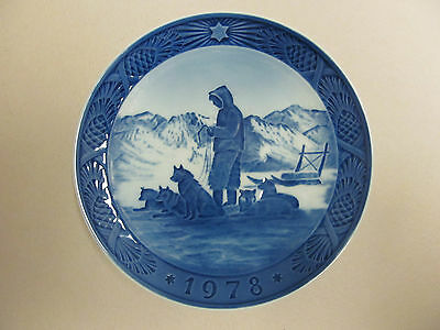 Royal Copenhagen Christmas Plate - 1978