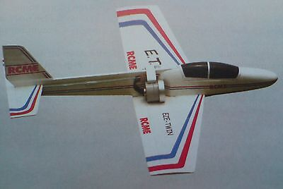 "RC Model Aircraft Building Plan ""EZE-Twin"" Fast EDF Sport"