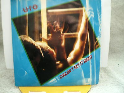 """UFO -Couldn't get it right- UK 7"""" SINGLE–EX-1980"""