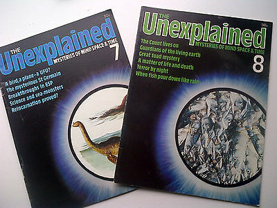 The Unexplained - Mysteries of mind, space & time. Issues 7 & 8.