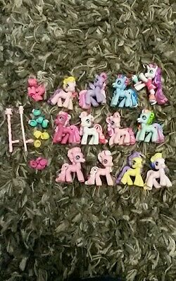 my little pony bundle mini toys and accessories