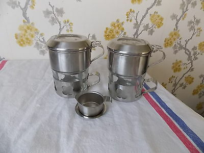 Pair of French Espresso Coffee Cups