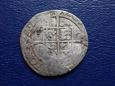 Great Britain  Elizabeth 1St Hammered Silver Sixpence 1564