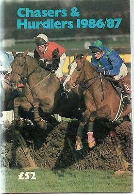 """""""Chasers & Hurdlers 1986/87"""" - TIMEFORM."""