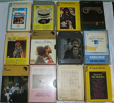 8 Track Tapes Selection