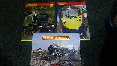 hornby catalogues set of 3