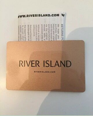 River Island £42 Gift Note