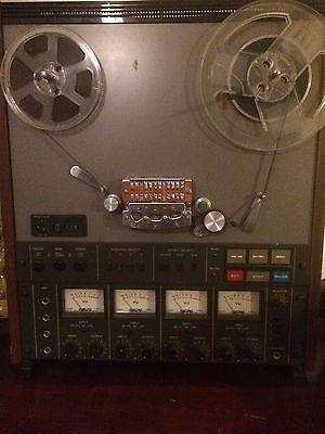 Teac A3440 reel to reel 4 track tape recorder