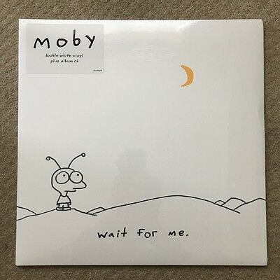 Moby- Wait For Me. Double White Vinyl Lp. Sealed