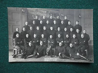 Russian Imperial Cossack Choir & Director Serge Jaroff Photographic Postcard