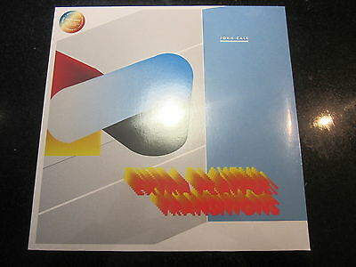 "John Cale ""extra Playful: Transitions"" White Ltd Ed 12"" New Velvet Underground"