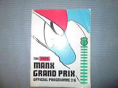 Isle Of Man Manx Grand Prix 1970  Official Programme