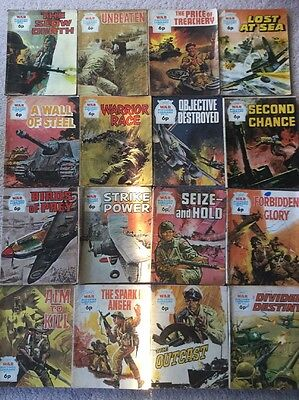 16 Early 70's War Picture Library Comics- 6p Issues