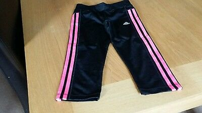 Girls Cropped Adidas Bottoms Size 9-10