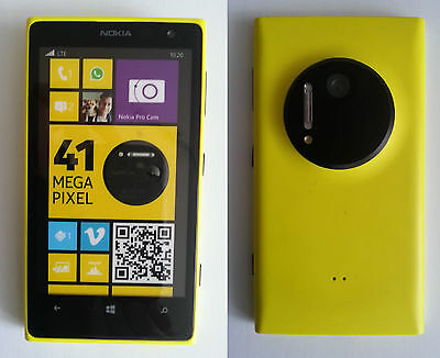 "☆ NOKIA LUMIA 1020 ""Gelb"" ☆ Handy Dummy Attrappe ☆ No real mobile phone! ☆"