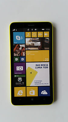 "☆ NOKIA LUMIA 1320 ""Gelb"" ☆ Handy Dummy Attrappe ☆ No real mobile phone! ☆"