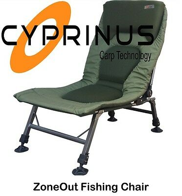 Cyprinus ZoneOut Chair Adjustable Padded Recliner Lightweight Lumbar Support