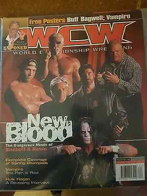 WCW Magazine May 2000 - New Blood (issue 62)