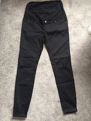 New Look Black Maternity Jeans Size 8