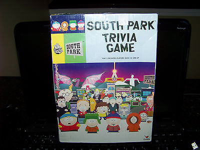 South Park Trivia Game 2007-NIB