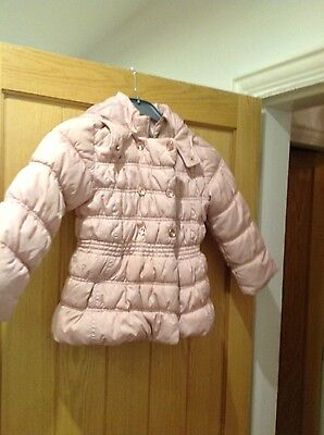 girls next pink jacket aged 5-6 years old
