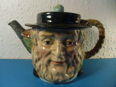 Vintage Beswick England Dickens Peggotty Character Teapot. Hand Painted. 1 116