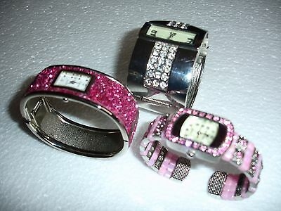 Ladies Costume Jewellery Braclet Watches  Job Lot
