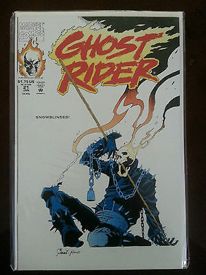 Ghost Rider January 21, 1991 Marvel Comics New