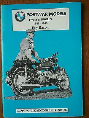 BMW Twins and Singles motorcycle monographs No20 R25 R26  R50 R69 R60 1973- 1969