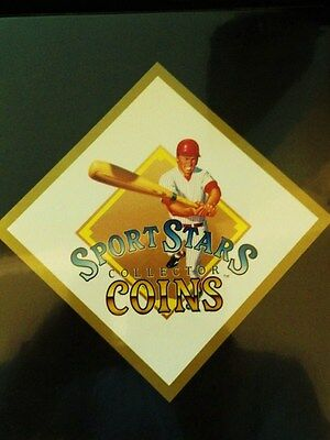 1990 Diamond Productions Mlb Sport Stars Coin Trader Set