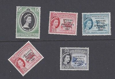 Stamps Somaliland MNH 1950s & 60s