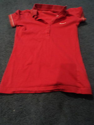 Reebok T shirt Extra Small Red
