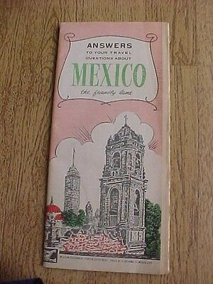 1940s MEXICO TRAVEL BOOKLET