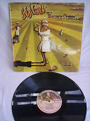 Genesis, Nursery Cryme, Rare Single Sleeve, Portugese Press, Excellent Condition