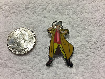 Back To The Future Doc Brown Lapel Pin Free Shipping in USA