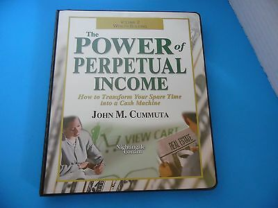 The Power of Perpetual Income by John M. Cummuta - CD Version Nightingale Conant