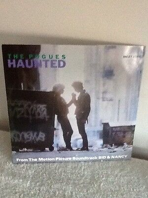 The Pogues Haunted 12 Inch Single