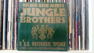 Jungle Brothers 'I'll House You' Gee Street - RAP 45 - VG++