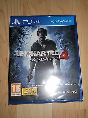 Uncharted 4 - A Thief's End (Sony PlayStation 4, 2016) Neu & OVP