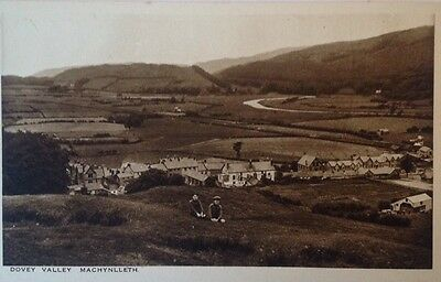 MACHYNLLETH, Dovey Valley.Real Photo Postcard.