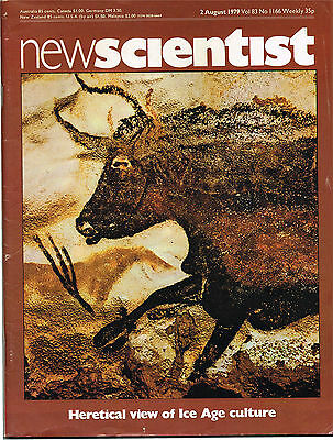 New Scientist Magazine 2 Aug 1979 Heretical View Of Ice Age Culture