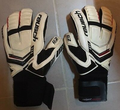 Reusch Reload Supreme G2 SIze 8.5 white Goalkeeper gloves