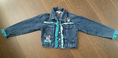 Girls Beetlejuice Denim jacket age 7