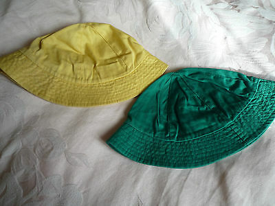 Vintage Collection Of  Kids Cotton  Sunhats