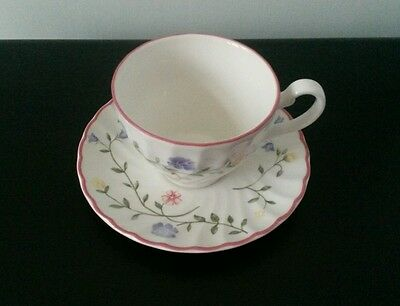 Johnson Brothers SUMMER CHINTZ Tea Cup And Saucer