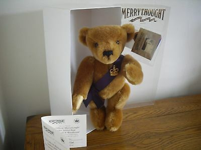 Merrythought Limited Edition Golden Jubilee Bear