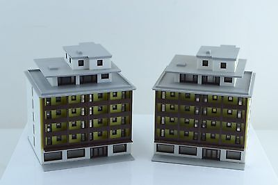 Marklin 8963 2 High Rise Buildings  Built Up Z Scale